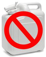Water vanuit thuis meenemen naar de volkstuin/ moestuin, is geen optie!